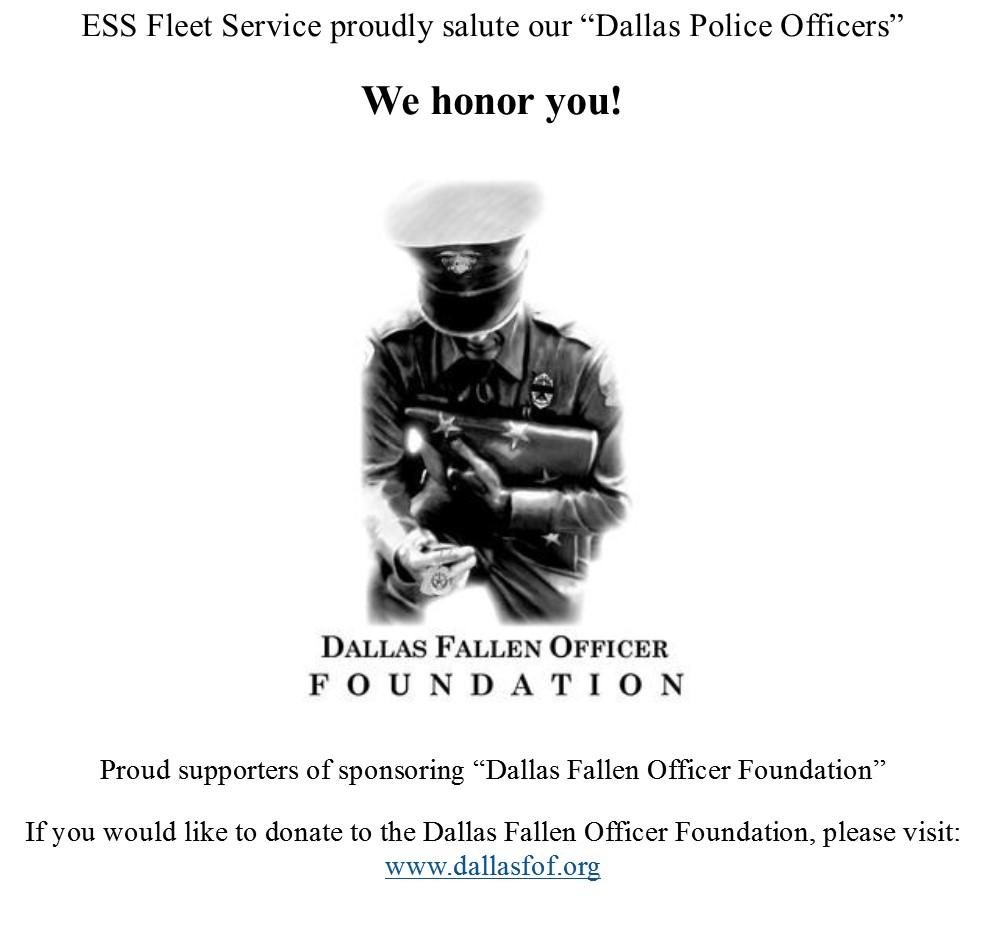Dallas Fallen Officer