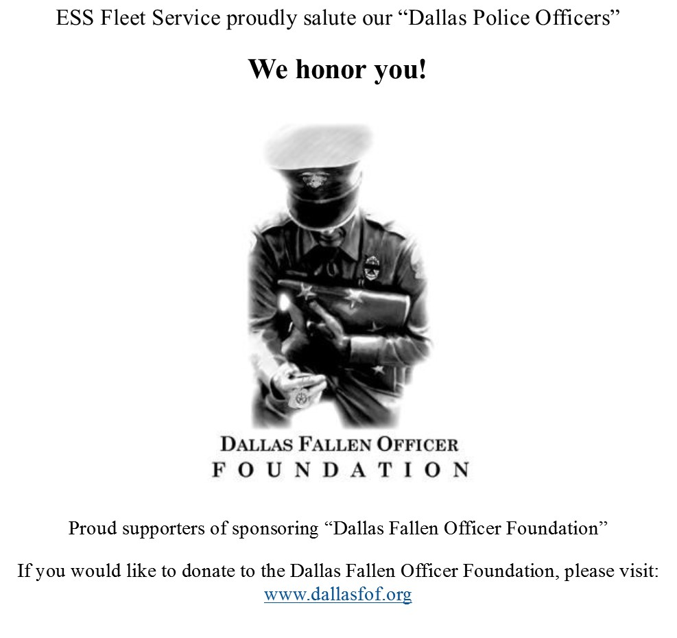 Dallas Fallen Officer